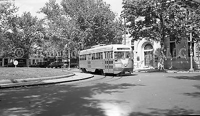 DC Capital Transit PCC Streetcar #1240 Original Negative DCT 7th & Pennsylvania