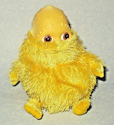 """Boohbah - Yellow Humbah 6"""" Beanie Plush Soft Toy By Golden Bear Good Condition"""