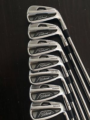 Titleist 712 AP2 Irons 4-Pw Shafts Dynamic Gold XP Regular Flex Shafts