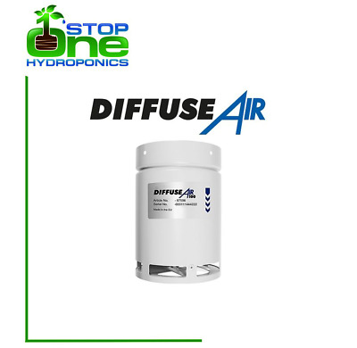 """G.A.S Systemair 4"""" DiffuseAir 100mm Fit's - 4"""" RVK 100 A1 FAN - Hydropnics"""
