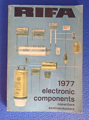 RIFA 1977 Electronics Components CAPACITORS SEMICONDUCTORS