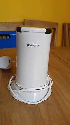 Kenwood CG100 ELECTRIC COFFEE GRINDER MILL LATTE BEAN NUT SPICE GRINDING MACHINE