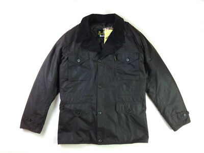 Barbour Terrier Waxed Jacket Size S Beaufort Bedale Tokito Commander Rare