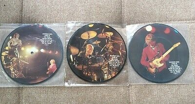 The Police- Interview with Sting  7'' Vinyl Set Of 3 Picture Discs - Very Rare