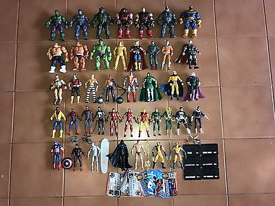 Marvel Universe Lotto 41 Action Figures Rare
