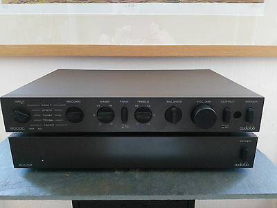 Audiolab 8000C Phono Pre-Amp/Processor with 8000P Power Amplifier