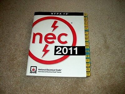 2011 NEC National Electrical Code Book NFPA 70 - gently used with Mike Holt tabs