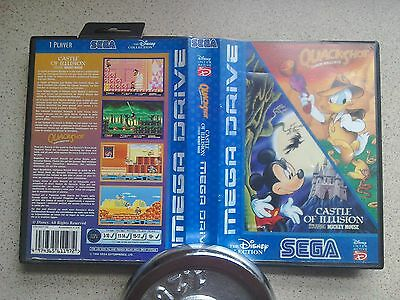 Disney Collection Empty BOX ONLY - For Sega Mega Drive Game (Fast Dispatch, PAL)
