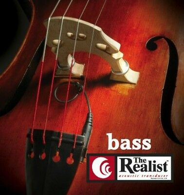 The Realist Upright Bass Pickup by David Gage good on Kay or Engelhardt Bass