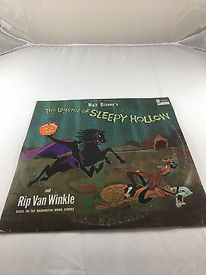 Disney The Legend Of Sleepy Hollow And Rip Can Winkle Vinyl LP Record