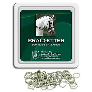 Braidettes RUBBER Bands Horse Riding