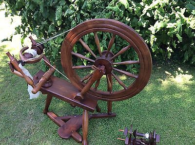 Spinning Wheel - Crowdy - double drive band - single treadle