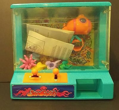 Zima Sea Catch Vintage Claw Machine game with original prizes and instructions