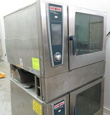 Rational Double SCC 62G Self Cooking Center Combi Oven GAS