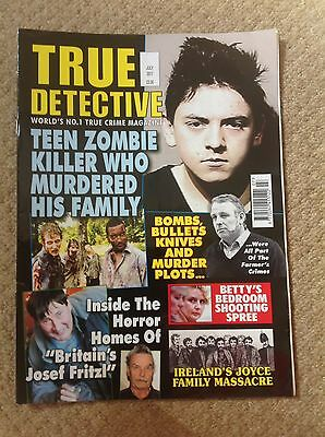 July 2017 Edition Of True Crime Magazine.