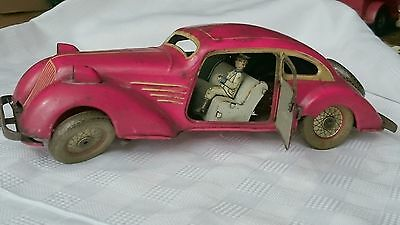 tin toy Blechspielzeug Auto Distler IA 3058 Stromlinien Roadster Streamline car