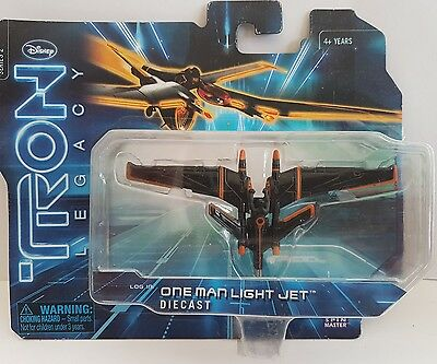 Disney tron legacy diecast one man light jet series 2 new