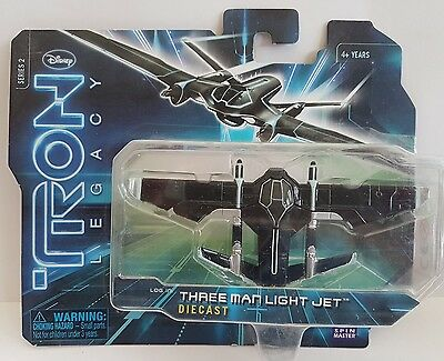Disney tron legacy diecast three man light jet series 2 new