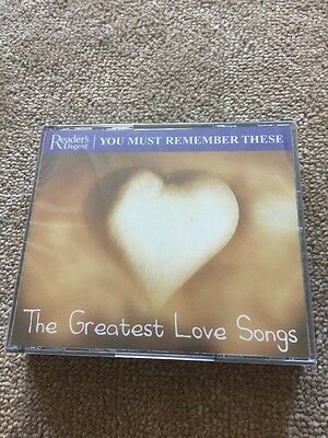 The Greatest Love Songs 3 Cd Set New And Sealed