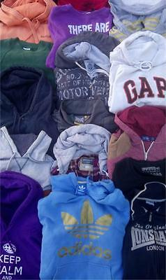Wholesale Joblot HOODIES/SWEATSHIRTS x 50 Ladies Mens Mixed - Quality Clothes
