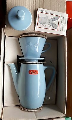 Retro French Cafetiere Melitta coffee pot Jug and filter