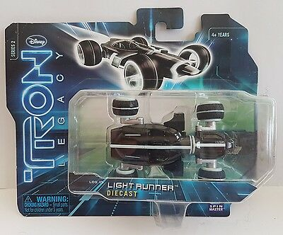 Disney tron legacy diecast light runner series 2 new