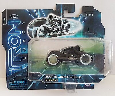 Disney tron legacy diecast sam's  light cycle series 2 new