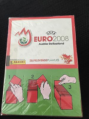 SEALED Box of Euro 2008 Panini Stickers - 100 packets