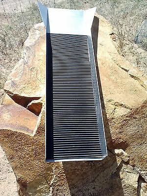 Gold Mining Sluice Box, Prospecting Sluicing Equipment Mini 12""