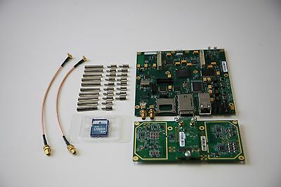 SDR - USRP2 Board w coded SD card Plus WBX Daughterboard (40MHz) w cables