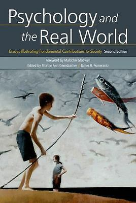 Psychology and the Real World 2nd Edition(2015, Paperback)