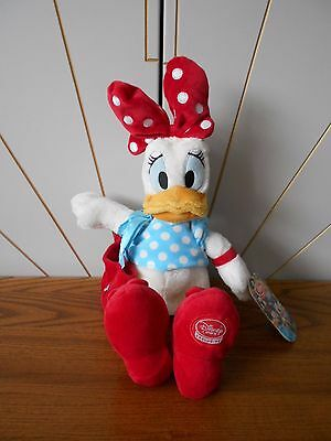 DAISY DUCK character soft toy, plush/comforter DISNEY STORE EXCLUSIVE anchor bag