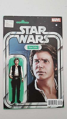 Star Wars  #2 Han Solo Action Figure Variant (Comic)