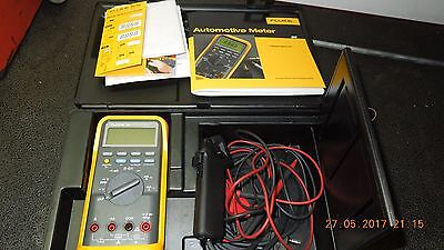 FLUKE 88 Automotive Meter Kit w/Case & Accessories