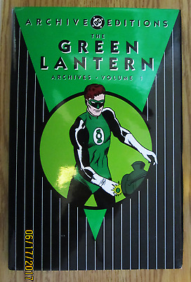 Dc Comics Green Lantern Archives Volume 1 Hc With Dust Jacket