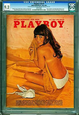 Playboy July 1969 | CGC 9.2 Near Mint - | Barbi Benton