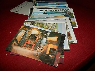 mixed job lot of used postcards - about 115 of them.