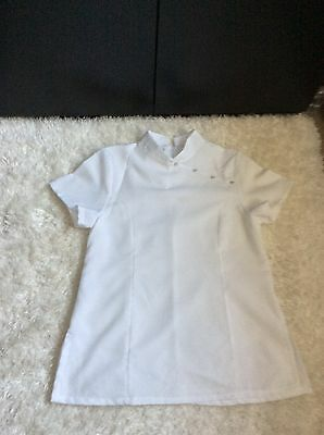 White Tunic Size 14 for Dentist, Beauty Therapist etc Worn once