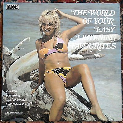 The World of Your Easy Listening Favourites Decca SPA435 cheesecake lounge lp