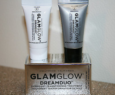 Glamglow DreamDuo Overnight Transforming Treatment 0.34 oz deluxe sample .34
