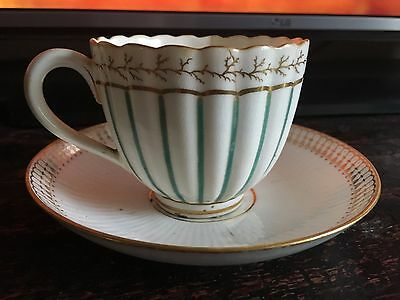 19th century matched cup and saucer