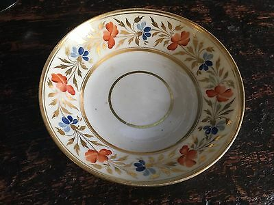 antique early 19th century english saucer