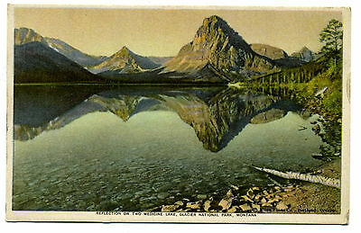 Glacier National Park Reflections on Two Medicine Lake See America First Series