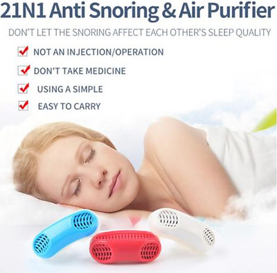 Anti-Snore Sleeping Device Sleep Aid Night Nose Breathing Apparatus Stop Snoring