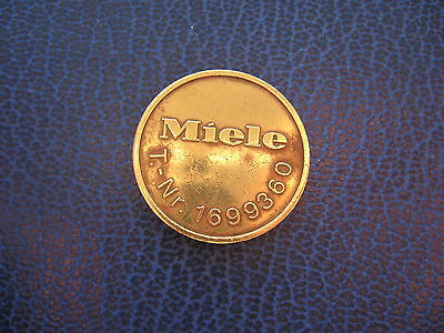 MIELE T-Nr 1699360  GOLD COLOURED GERMANY TOKEN COIN