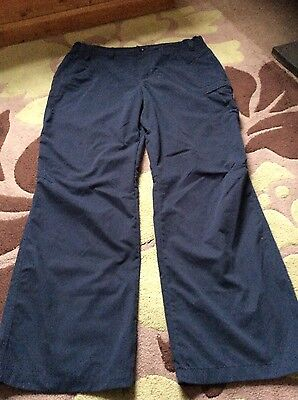 ladies berghaus trousers size 16 used