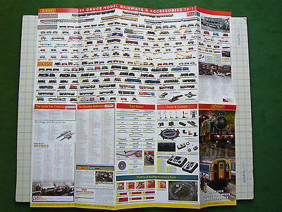 Hornby Product Range 2011 Fold-Out Poster M5257/11