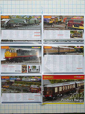 Hornby Product Range 2012 Fold-Out Poster M5448