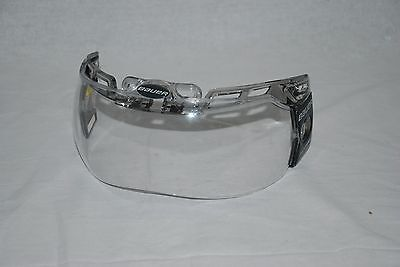 Bauer Hdo Deluxe Visor Clear Ohl Slight Use