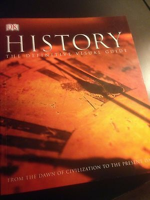 History: The Definitive Visual Guide DK Paperback Book